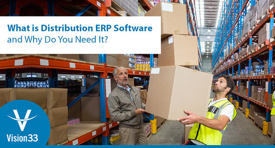 erp software solutions for distribution