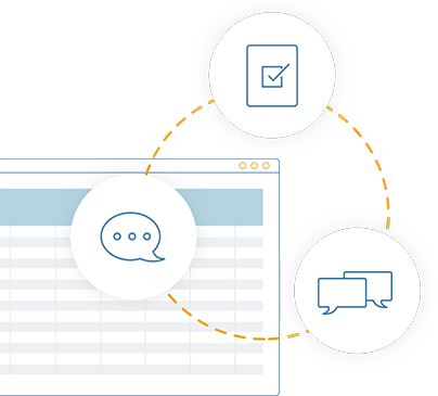 Collaborate directly on your plans with the team with SAP Analytics Cloud