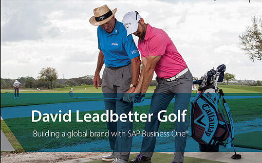 Read the SAP Business One Case Study from David Leadbetter