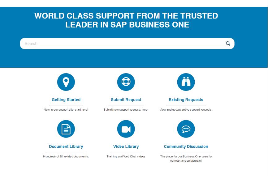 World Class SAP Business One Support