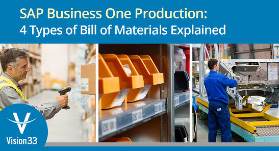sap business one production - cloud erp