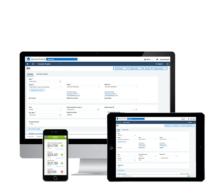 financial erp software intacct